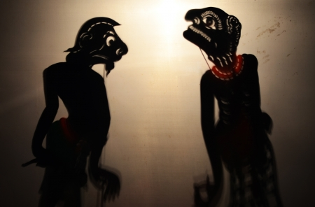 Traditional Thai Shadow Theatre or  photo