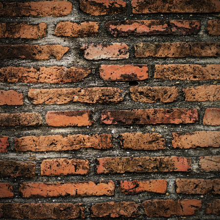 Grunge brick wall texture background photo