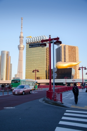 Tokyo Sky Tree, Landmark  in the Asakusa district