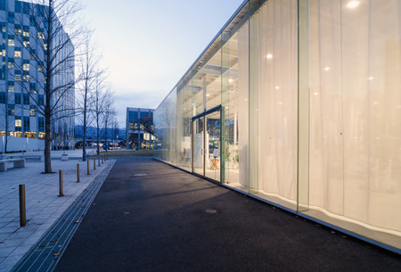 institute of technology: Exterior of Modern Architecture in Kanagawa Institute of Technology