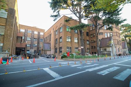 abbreviated: Tokyo - November 22: The University of Tokyo, abbreviated as Todai is a research university located in Bunkyo, Tokyo, Japan November 22, 2013