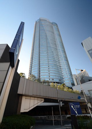 famous building: Roppongi Hills Tower, Famous building in roppongi district, Tokyo, Japan