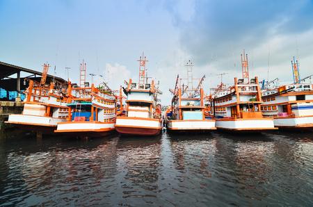 phuket province: Docking Boats at Phuket Province, Thailand