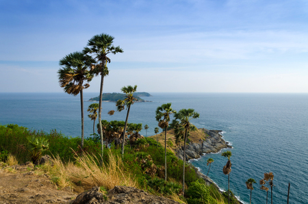 thep: Phrom Thep cape at Phuket, South of Thailand
