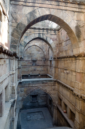 toran: Stepwell in Ahmedabad, Gujarat, India