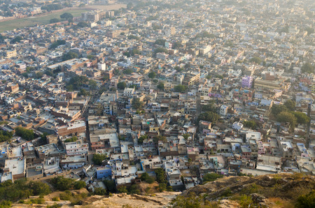 City of Jaipur, View from Nahargarh Fort photo