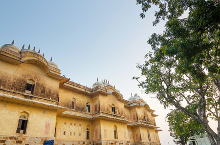 Traditional architecture, Nahargarh Fort in Jaipur, Rajasthan, India
