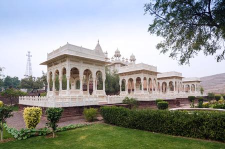 rajah: Jaswant Thada rajah memorial, Jodhpur, Rajasthan, India.