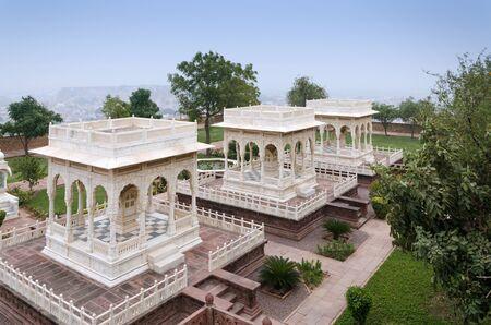 rajah: Jaswant Thada rajah memorial in Jodhpur, Rajasthan, India. Editorial