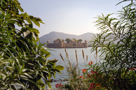 jaipur: Jal Mahal Palace in Jaipur, Rajasthan Editorial
