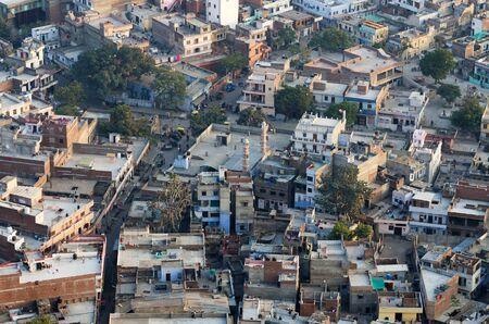 jaipur: City of Jaipur, View from Nahargarh Fort, Jaipur, India Stock Photo