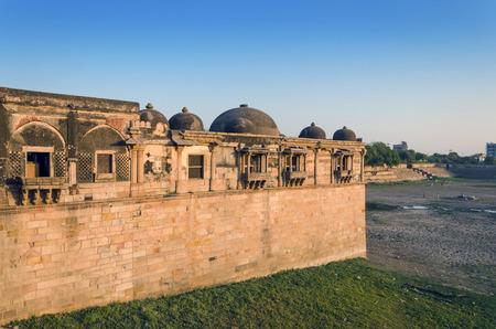 gujarat: Sarkhej Roza mosque in Ahmedabad, Gujarat, India
