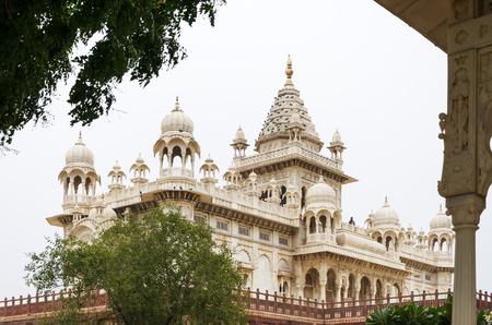 rajah: Jaswant Thada Rajah memorial en Jodhpur, Rajasthan, India.