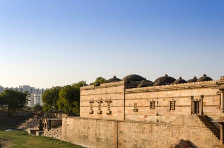 gujarat: Sarkhej Roza mosque, Ahmedabad, Gujarat, India