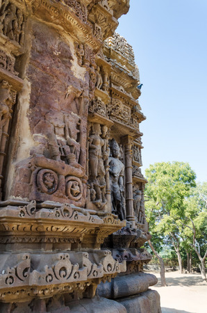 toran: Vintage crafted designs on rocks at Sun Temple Modhera, Ahmedabad, India