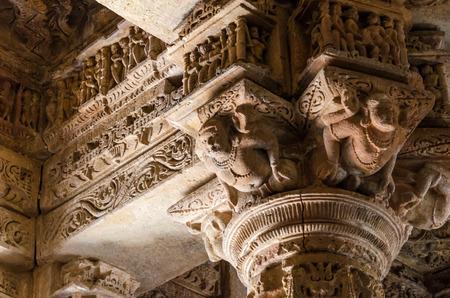 toran: Crafted designs on rocks at Sun Temple Modhera, Ahmedabad, India
