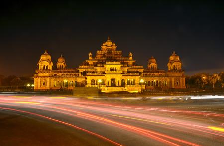 Albert Hall (Central Museum) in Jaipur, Rajasthan, India