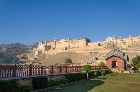 jaipur: Amber Fort, Landmark in Jaipur, Rajasthan, India Editorial