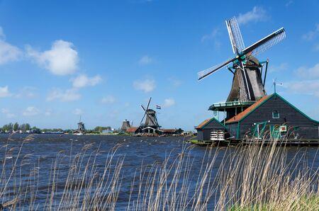 Wind mill of Zaanse Schans, Netherlands