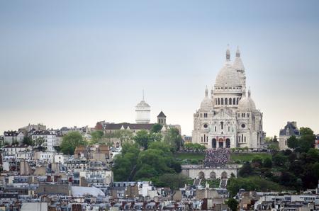 sacre: Basilica Sacre Coeur in Paris, France.