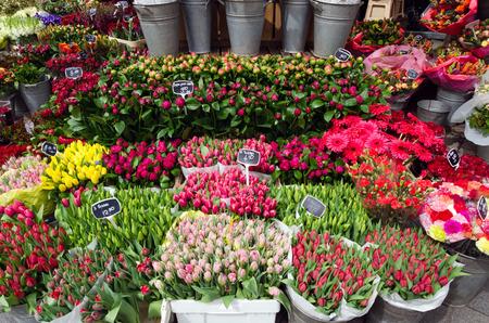 rotterdam: Flower shop in Rotterdam, Netherlands.