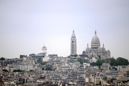 sacre: Basilica Sacre Coeur in montmartre, Paris, France.