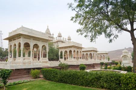 mausoleum: Jaswant Thada mausoleum, Jodhpur, India Editorial