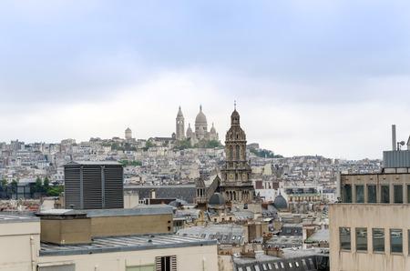 sacre: Basilica sacre coeur in Montmartre, Paris, France