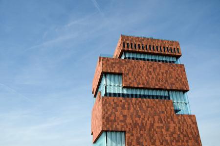 Museum aan de Stroom (MAS) in Antwerpen, België