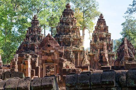 reap: Beautiful Banteay Srei temple, Siem Reap, Cambodia