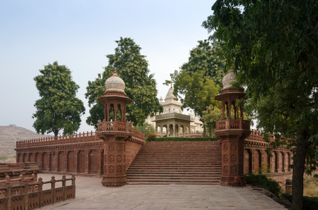 rajasthan: Jaswant Thada rajah memorial in Jodhpur, Rajasthan, India. Editorial