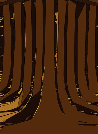 bold: Abstract vertical background. Bold edge gold color Illustration
