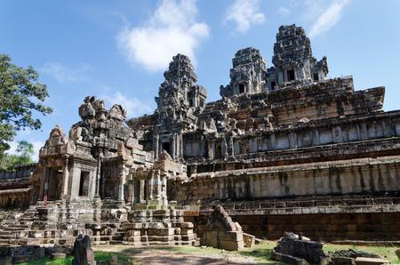 king palace: Phimeanakas Temple in Angkor Thom, Cambodia Stock Photo