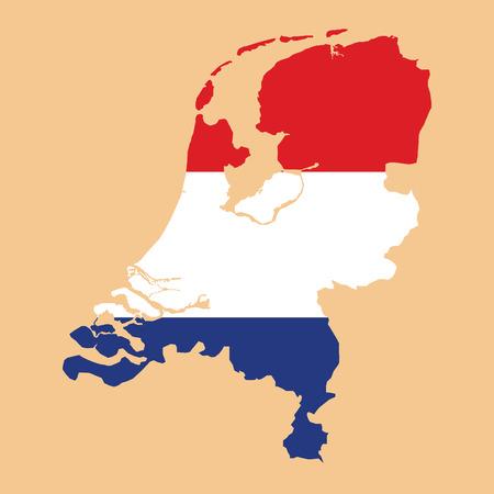 map of netherlands: Netherlands map with Netherlands inside.