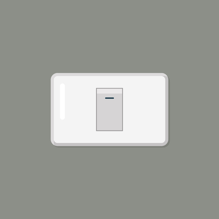 Electronic switch isolated on background. Vector illustration Standard-Bild - 115058910