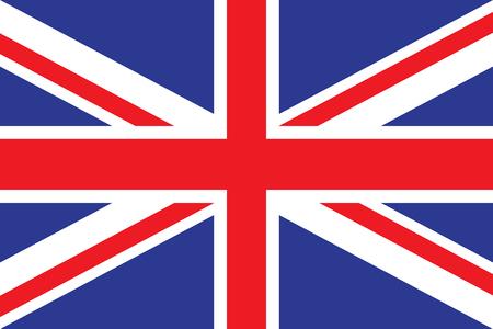 Flag of the United Kingdom. vector illustration