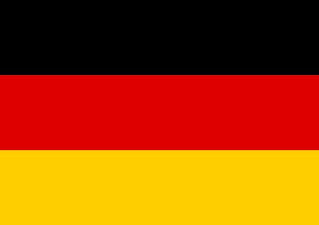 Germany flag vector illustration. Graphic design Standard-Bild - 111563529
