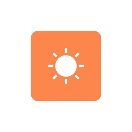 Solar symbol icon vector illustration. graphic design 版權商用圖片 - 126042725