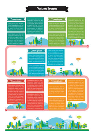 Timeline template infographic. Vector illustration 矢量图像