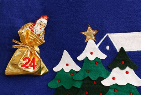 Chocolate Santa Claus photo