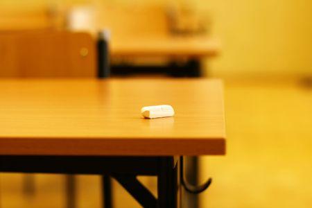 Memory of school classroom soft focus Archivio Fotografico