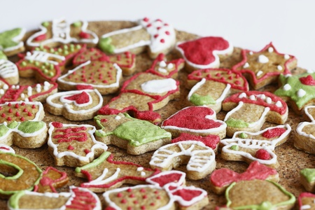 Christmas gingerbread photo