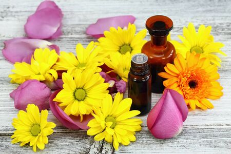 perfumed: Essential oil from sweet smelling flowers also known as oil of the plant
