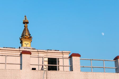 Holy Maya Dev Temple in Lumbini. The birthplace of Lord Gautama Buddha Stock fotó