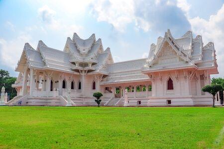 Beautiful Thai Monastery in Lumbini, Nepal.