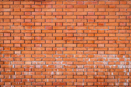 Red wallbrick background texture or pattern