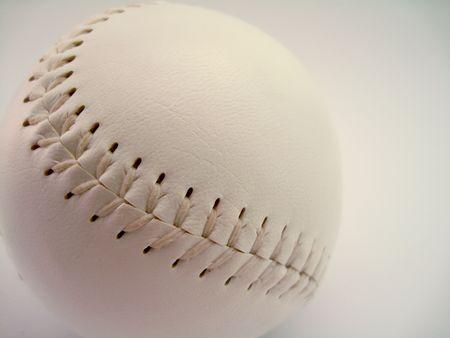 White Softball photo