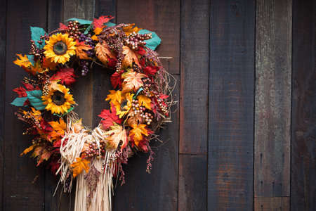 A close up of a Autumn display. Stock Photo