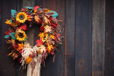 A Nahaufnahme von einer Herbst-Anzeige. Standard-Bild - 8201957
