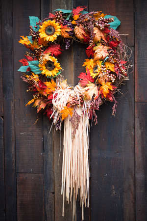 A close up of a Autumn display. Banque d'images
